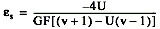 To simulate the effect on strain of applying a shunt resistor across R3, use the following equation
