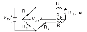 Quarter-Bridge Type I Circuit Diagram