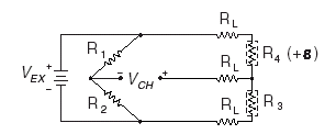 Quarter-Bridge Type II Circuit Diagram