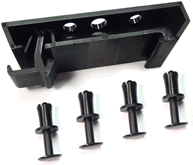 ADR-Kit DIN Rail Clip with Fasteners