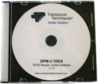 TEDS Reader Editor Software for DPM-3-TRES
