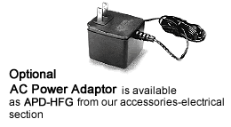 hfg series force gauge ac power adapter