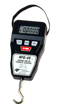 digital / compact / peak capture hand-held force gauge model hfg-45