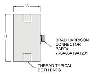 hsw series load cell specifications
