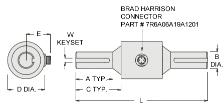 sts series torque sensor specifications