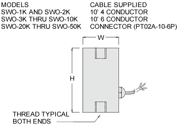 swo series load cell specifications