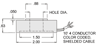 thc series load cell specifications